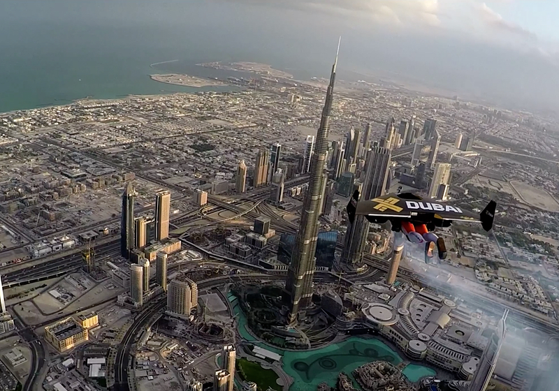 Jetpack over Dubai