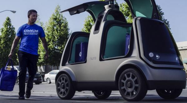 Kroger Driverless Groceries